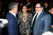 """(L-R) The Walt Disney Company Chairman and CEO Bob Iger, Beyoncé, and Jon Favreau attend the premiere of Disney's """"The Lion King"""" at Dolby Theatre on July 09, 2019 in Hollywood, California."""