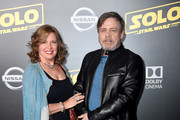"""Marilou York (L) and Mark Hamill attend the premiere of Disney Pictures and Lucasfilm's """"Solo: A Star Wars Story"""" at the El Capitan Theatre on May 10, 2018 in Los Angeles, California."""