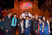 "Director Lee Unkrich, Actor Anthony Gonzalez, Co-director/Screenwriter Adrian Molina, Producer Darla K. Anderson and guests at the U.S. Premiere of Disney-Pixar's ""Coco"" at the El Capitan Theatre on November 8, 2017, in Hollywood, California."