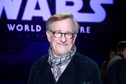 "Steven Spielberg attends the Premiere of Disney's ""Star Wars: The Rise Of Skywalker"" on December 16, 2019 in Hollywood, California."