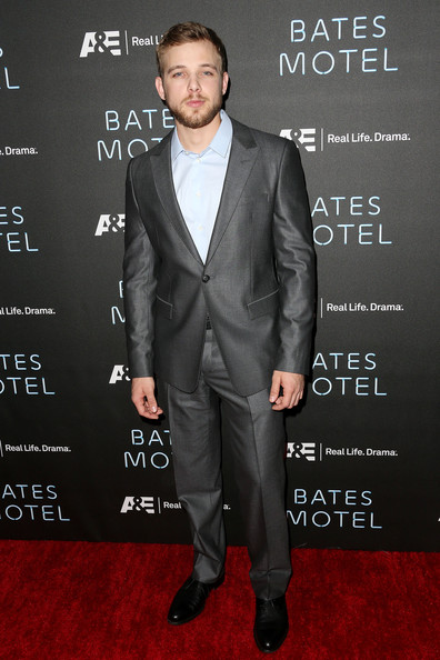 """Actor Max Thieriot attends the Premiere of A&E Network's """"Bates Motel"""