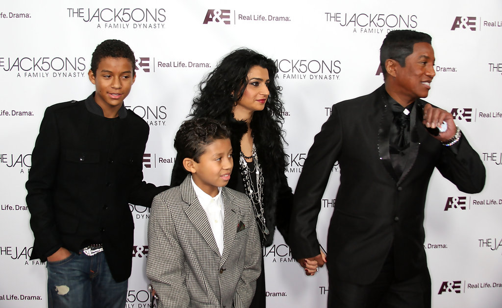 """Jermaine Jackson in Premiere Of A&E Network's """"The ..."""