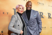 """Rebecca King-Crews (L) and Terry Crews attend the premiere of Focus Features' """"Harriet"""" at The Orpheum Theatre on October 29, 2019 in Los Angeles, California."""
