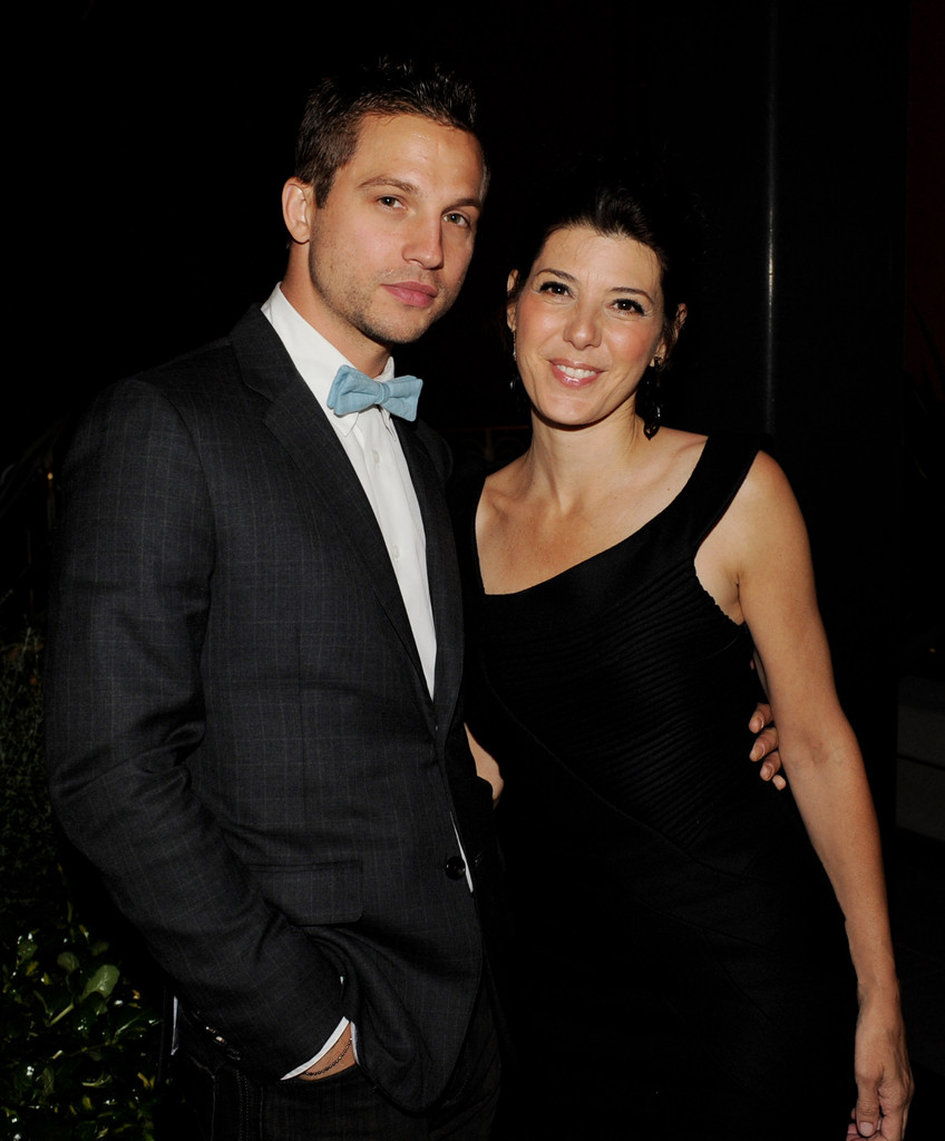 Marisa Tomei with Logan Marshall