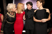 "(L-R) Dame Helen Mirren, actress Toni Collette, director Sacha Gervasi and actress Jessica Biel arrive at the premiere of Fox Searchlight Pictures' ""Hitchcock"" at the Academy of Motion Picture Arts and Sciences Samuel Goldwyn Theater on November 20, 2012 in Beverly Hills, California."