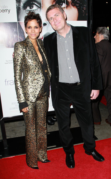 "Actress Halle Berry (L) and director Geoffrey Sax attend the premiere of ""Frankie and Alice"" at the Egyptian Theatre on November 30, 2010 in Hollywood, California."