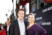 David Ellison and Sandra Lynn Modic attend the Premiere of Gemini Man at the TCL Chinese Theater in Hollywood, CA on October 6, 2019.