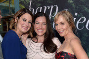 (L-R) Executive Producer/Author Gillian Flynn, Executive Producer Jessica Rhoades, and Executive Producer/Creator Marti Noxon attend the premiere of HBO's 'Sharp Objects' at The Cinerama Dome on June 26, 2018 in Los Angeles, California.