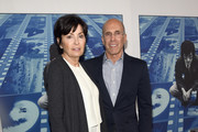 """Marilyn Katzenberg (L) and Jeffrey Katzenberg at the Premiere Of HBO's """"Spielberg"""" at Paramount Studios on September 26, 2017 in Hollywood, California."""