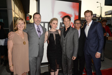 "Anna Paquin Alexander Skarsgard Premiere Of HBO's ""True Blood"" 5th Season - Red Carpet"