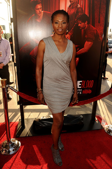 "Actress Adina Porter arrives at premiere of HBO's ""True Blood"" Season 4 at ArcLight Cinemas Cinerama Dome on June 21, 2011 in Los Angeles, California."