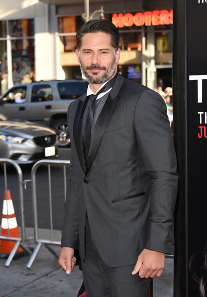 "Actor Joe Manganiello attends the premiere of HBO's ""True Blood"" season 7 and final season at TCL Chinese Theatre on June 17, 2014 in Hollywood, California."
