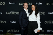"""Matthew Alan and Camilla Luddington attend the premiere of Hulu's """"Castle Rock"""" Season 2 at AMC Sunset 5 on October 14, 2019 in Los Angeles, California."""