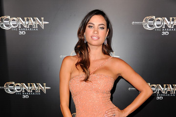 "Alina Puscau Premiere Of Lionsgate Films' ""Conan The Barbarian"" - Red Carpet"