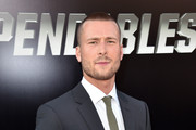 Actor Glen Powell attends the premiere of Lionsgate Films' 'The Expendables 3' at TCL Chinese Theatre on August 11, 2014 in Hollywood, California.
