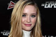 Actress Greer Grammer attends the premiere of Lionsgate Films' 'The Expendables 3' at TCL Chinese Theatre on August 11, 2014 in Hollywood, California.