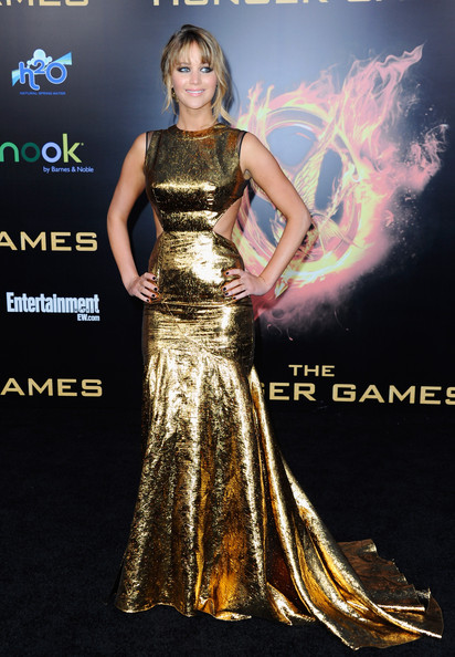 Jennifer+Lawrence in Premiere Of Lionsgate's