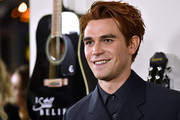 """K.J. Apa attends the Premiere Of Lionsgate's """"I Still Believe"""" at ArcLight Hollywood on March 07, 2020 in Hollywood, California."""
