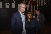 Steve James and Chaz Ebert attend the after-party of Magnolia Pictures' 'Life Itself' at Warwick on June 26, 2014 in Hollywood, California.