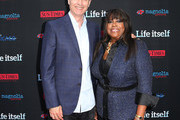 Director Steve James (L) and Chaz Ebert attend the Premiere of Magnolia Pictures' 'Life Itself' at the ArcLight Hollywood on June 26, 2014 in Hollywood, California.