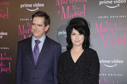 Daniel Palladino and Amy Sherman-Palladino attend Premiere The Marvelous Mrs. Maisel S2 - Milan event at Cinema Odeon on December 3, 2018 in Milan, Italy