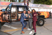 """(L-R) Anders Holm, Adam DeVine, and Blake Anderson attend the premiere of the Netflix film """"Game Over, Man!"""" at the Regency Village Westwood in Los Angeles at Regency Village Theatre on March 21, 2018 in Westwood, California."""