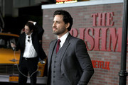 "Edgar Ramirez attends the Premiere Of Netflix's ""The Irishman"" at TCL Chinese Theatre on October 24, 2019 in Hollywood, California."