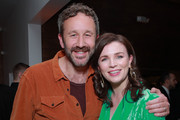 Chris O'Dowd and Aisling Bea attend the after party for the premiere of Netflix's 'Living With Yourself' on October 16, 2019 in Hollywood, California.