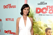 Actress Catherine Bell attends the premiere of Netflix's 'The Do Over' at Regal LA Live Stadium 14 on May 16, 2016 in Los Angeles, California.