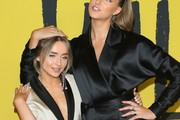 """Sabrina Carpenter and Ava Michelle attend Netflix """"Tall Girl"""" special screening at Netflix on September 09, 2019 in Los Angeles, California."""