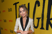 Actress Sabrina Carpenter attends the premiere of Netflix's 'Tall Girl' at Netflix Home Theater on September 09, 2019 in Los Angeles, California.