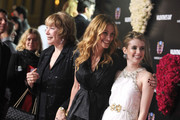 """(L-R) Actresses Shirley Maclaine, Julia Roberts and Emma Roberts arrive at the """"Valentine's Day"""" Los Angeles premiere held at Grauman's Chinese Theatre on February 8, 2010 in Hollywood, California."""