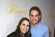 """Beanie Feldstein and Ben Platt attend the premiere of The Orchard's """"Flower"""" at ArcLight Cinemas on March 13, 2018 in Hollywood, California."""