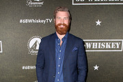 """Derek Theler attends the premiere of Paramount Pictures' """"68 Whiskey"""" at Sunset Tower on January 14, 2020 in Los Angeles, California."""