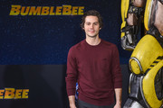"""Dylan O'Brien attends Premiere Of Paramount Pictures' """"Bumblebee"""" at TCL Chinese Theatre on December 09, 2018 in Hollywood, California."""