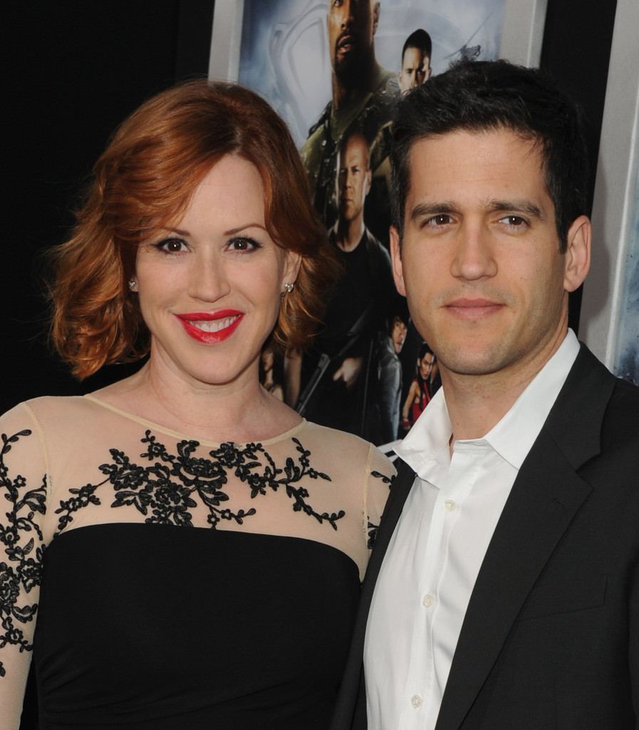 Molly Ringwald and Panio Gianopoulos Photos Photos - 'G.I ...