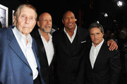 Brad Grey and Dwayne Johnson Photos Photo
