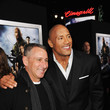 Dwayne Johnson and Adam Shankman Photos