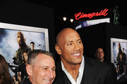Dwayne Johnson and Adam Shankman Photos Photo