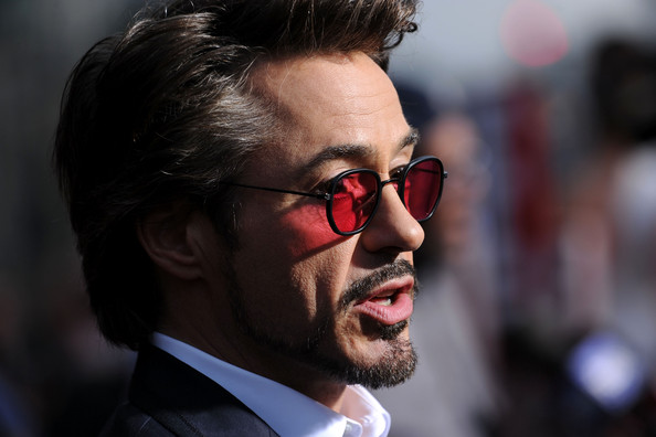 """Actor Robert Downey Jr. arrives at the world premiere of Paramount Pictures and Marvel Entertainment's """"Iron Man 2? held at El Capitan Theatre on April 26, 2010 in Hollywood, California."""