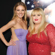 Rebel Wilson and Bar Paly
