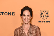 """Annabeth Gish attends the premiere of Paramount Pictures' """"Yellowstone"""" at Paramount Studios on June 11, 2018 in Hollywood, California."""