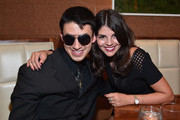 Musician Justin Kauflin and singer Nikki Yanofsky attend the after party for  the premiere of RADIUS-TWC's 'Keep On Keepin' On' at Westside Tavern on September 17, 2014 in Los Angeles, California.