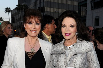 """Joan Collins Jackie Collins Premiere Of ReelzChannel's """"The Kennedys"""" - Red Carpet"""