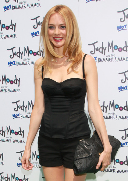 "Actress Heather Graham attends the premiere of Relativity Media's ""Judy Moody and the NOT Bummer Summer"" at ArcLight Hollywood on June 4, 2011 in Los Angeles, California."
