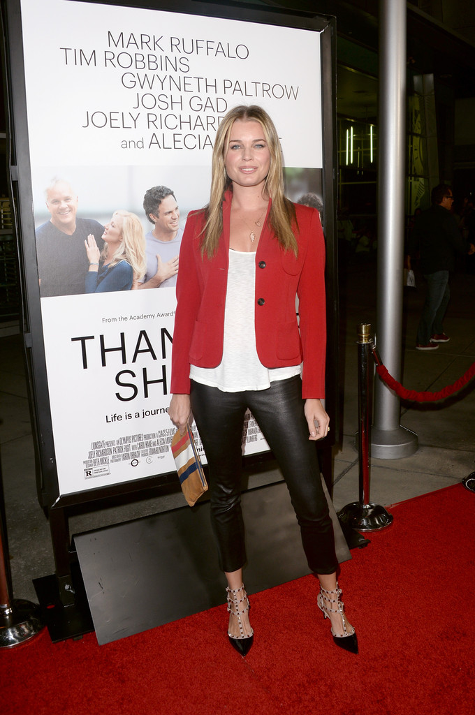 Actress Rebecca Romijn attends the premiere of Roadside Attractions' 'Thanks For Sharing' at ArcLight Cinemas on September 16, 2013 in Hollywood, California.