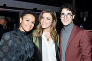 Darren Criss and Mia Swier Photos Photo