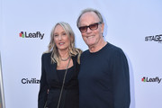 "Actor Peter Fonda and Margaret DeVogelaere attend the premiere of Sony Pictures Classics' ""Boundries"" at American Cinematheque's Egyptian Theatre on June 19, 2018 in Hollywood, California."