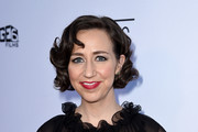 "Actress Kristen Schaal arrives at the premiere of Sony Pictures Classics' ""Boundaries"" at the American Cinematheque's Egyptian Theatre on June 19, 2018 in Los Angeles, California."