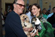 """Actors Peter Fonda (L) and Vera Farmiga arrive at the premiere of Sony Pictures Classics' """"Boundaries"""" at the American Cinematheque's Egyptian Theatre on June 19, 2018 in Los Angeles, California."""
